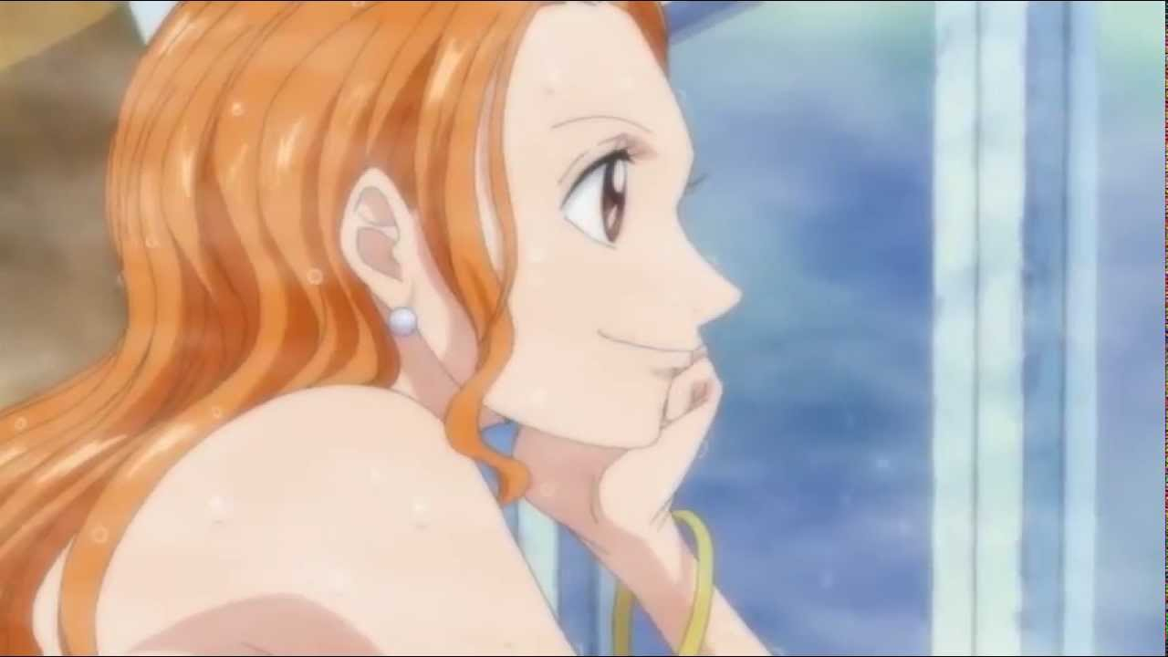 One Piece Nami Bath Nami Shower Scene One Piece