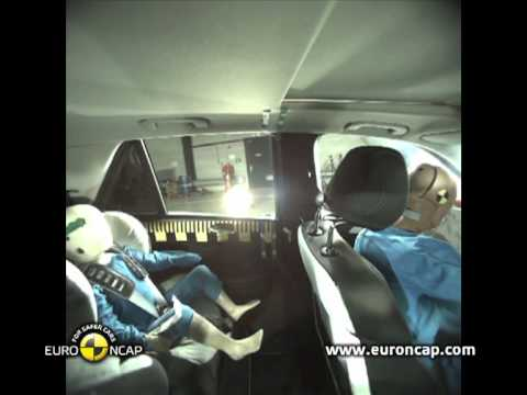 Euro NCAP | Mercedes-Benz M-Class | 2012 | Краш-тест