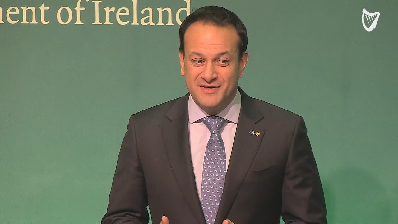 VIDEO - Varadkar: 'I'd like people in Northern Ireland to set aside historical differences and se...