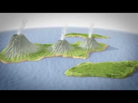 Animasi Letusan Krakatau 1883