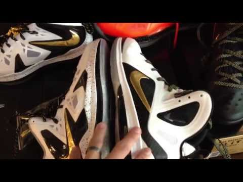 Nike Lebron X P.S. Elite vs Elite 9 Comparison Review (HD)