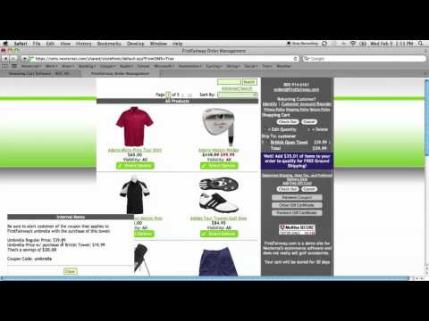 Nexternal eCommerce Platform Demo - Shopping Cart & Order Management