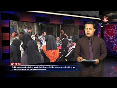 Rohingya Daily News 09 January 2018