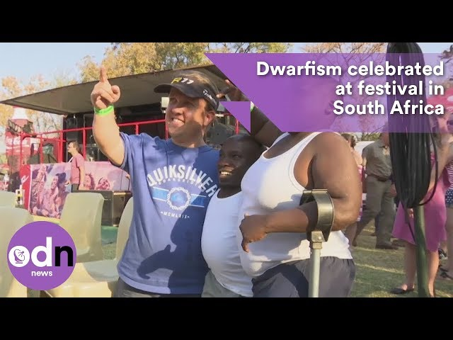 Dwarfism celebrated at festival in South Africa