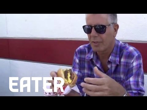 Anthony Bourdain on In-N-Out: 'My Favorite Restaurant in LA'