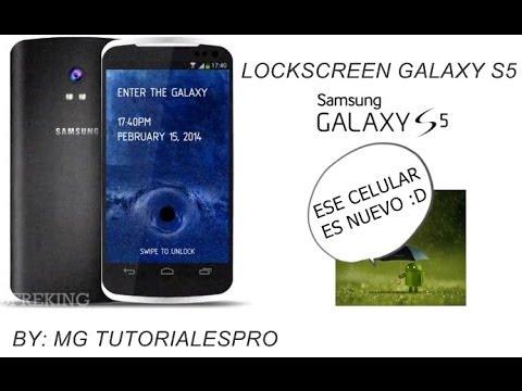 Lockscreen-Bloqueo de pantalla del Samsung Galaxy s5 en android
