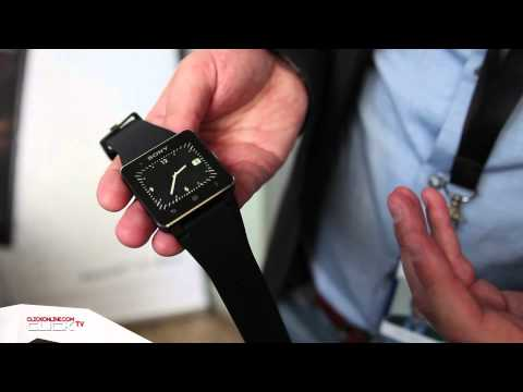 Sony SmartWatch 2 Hands On