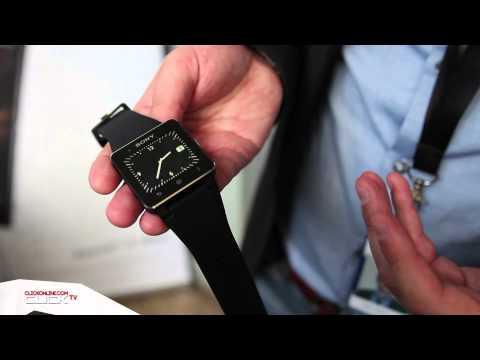 Sony SmartWatch 2 Hands On