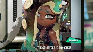 Splatoon 2 Marina CANCELS Splatfest! (Frosty Fest)