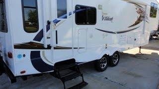 2011 Wildcat 5th Wheel by Forest River | Stunning Used Fifth Wheel In Dallas Texas