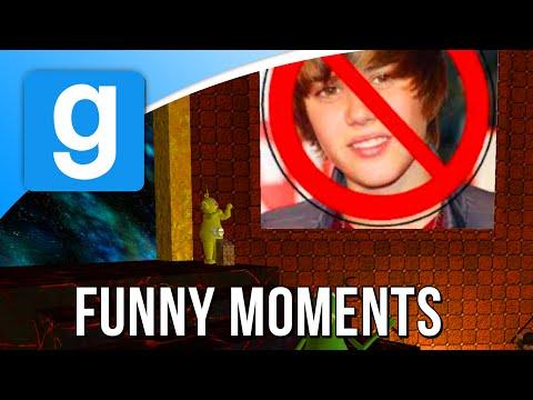 IK BEN EEN BELIEBER! (Garry's Mod Funny Moments)