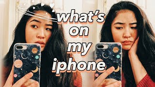 WHAT'S ON MY IPHONE 8 PLUS (2019)