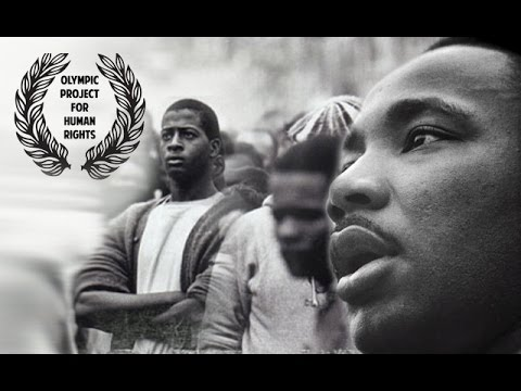 Martin Luther King Jr. Talks Boycott Olympic Game Mexico, 1968