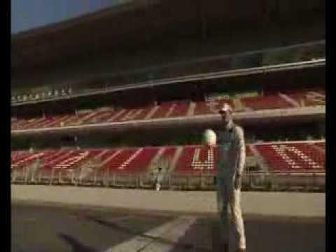 Michael Schumacher & Nico Rosberg - Footballing Skills I