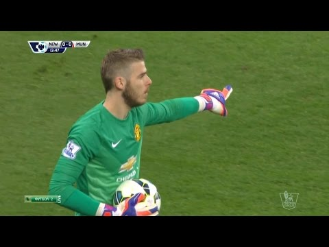 David De Gea Vs. Newcastle United 14-15 [Away] [HD 720p]
