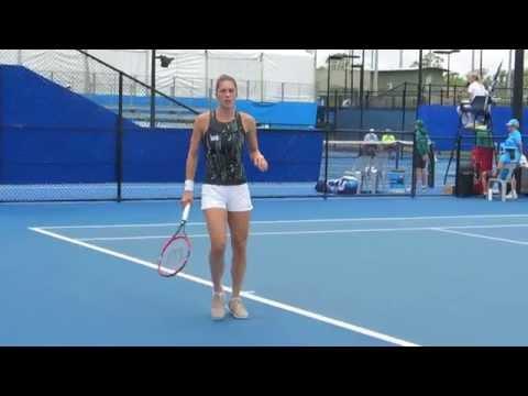 Andrea Petkovic Hitting