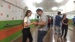 Dance class, salsa