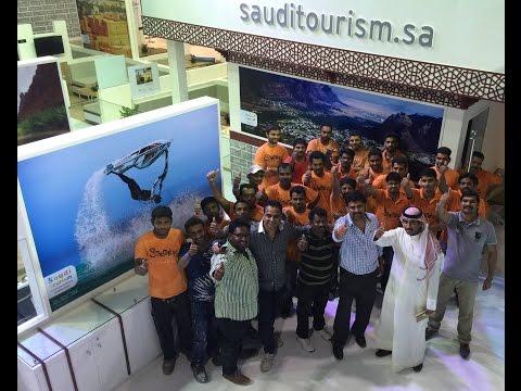 Saudi Tourism Stand At ATM 2015 Dubai