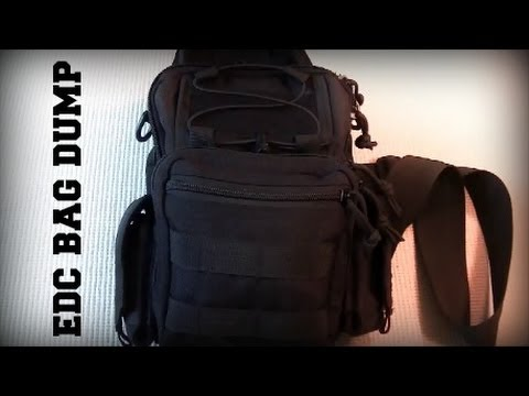 EDC Sling Bag Dump - Basic Everyday Carry System