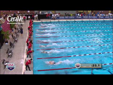 Men's 50m Freestyle B Final - 2012 Columbus Grand Prix