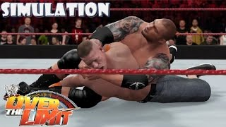 WWE 2K16 SIMULATION: John Cena vs Batista - I Quit match | Over the Limit 2010 Highlights