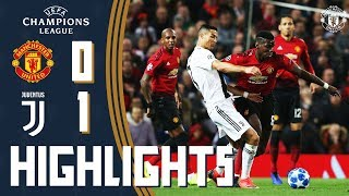 Highlights | Manchester United 0-1 Juventus | UEFA Champions League