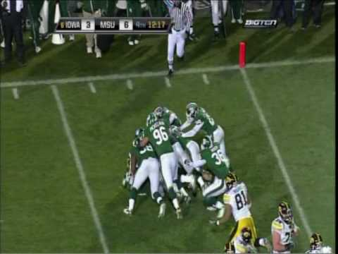 2009 Iowa Hawkeyes vs. Michigan State Spartans Highlights Video