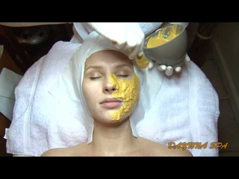 DYANNA SPA 24k Gold Facial Mask.Face Skin Care. Anti-Aging Treatment. Manhattan New York Facials.