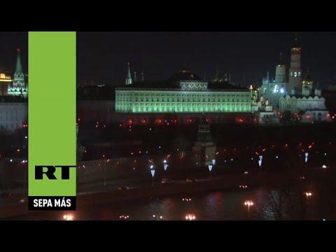 La Hora del Planeta: El Kremlin apaga sus luces contra el cambio climático