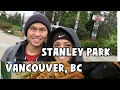 THINGS TO DO IN STANLEY PARK + TRYING ABURI SUSHI FOR THE FIRST TIME! | Vancouver, BC Travel Vlog