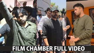 Pawan Kalyan At Film Chamber Full Video Over Comments On His Mother