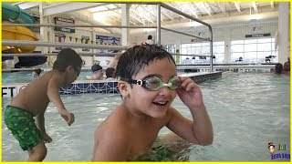 Swimming Fun time with Jai Bista Show || Kids swimming fun Pack
