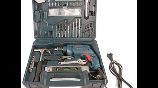 Bosch GSB 500 RE KIT Professional Power and Hand tool Kit Review-Part 1 of 2
