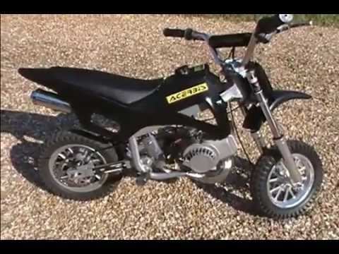 fast pocket dirt bike 49cc minimoto youtube. Black Bedroom Furniture Sets. Home Design Ideas