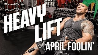 "HEAVY LIFT - Goofs, Gaffs, & Laughs with Dwayne ""The Rock"" Johnson"