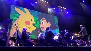 Pokemon Theme (Gotta Catch 'Em All) by Pokémon: Symphonic Evolutions at Eventim Apollo on 20.12.16
