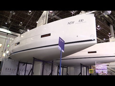 2019 Dufour 430 Grand Large - Deck and Interior Walkaround - Debut at 2019 Boot Dusseldorf