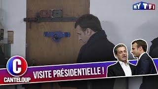 Imitation de Nicolas Sarkozy - «On mange mieux au Fouquet's» - C'est Canteloup