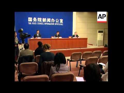 Hu visits region devastated by earthquake, presser