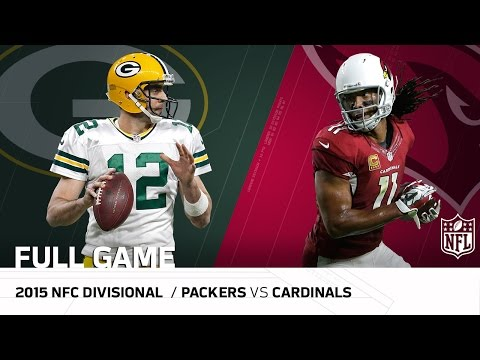 2015 Nfc Divisional Round Packers Vs Cardinals Fitzgerald S Legendary
