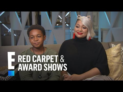 Isaac Brown Tells Advice Raven-Symone Gave Him | E! Live from the Red Carpet