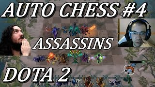 AUTO CHESS PRAY FOR CRITS! 6 Assassins Lineup