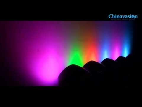 Lampara led cambia de colores para decoracion de casa y - Lamparas solares de led ...