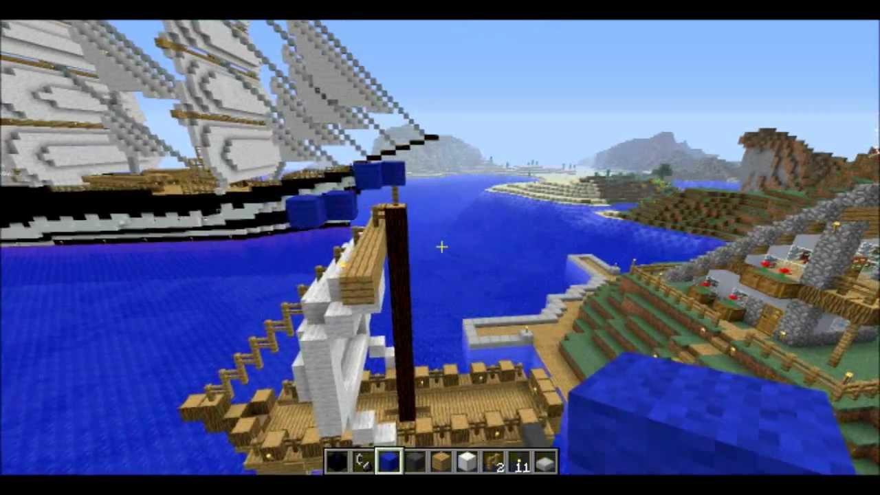 Minecraft Bateau de Poche