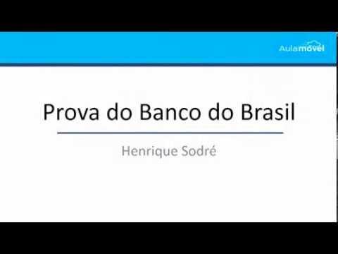 Correção - Banco do Brasil 2014 - CESGRANRIO - Informática - Henrique Sodré