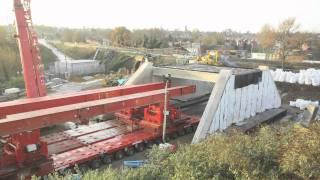 Time Lapse - Rail Bridge Replacement, Cow Lane, Reading