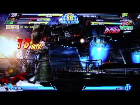 MvC3 Horrendous Lag Online Casuals pt25