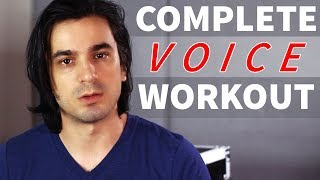 A COMPLETE Vocal Workout | Power, Range, Runs & Singing in Tune