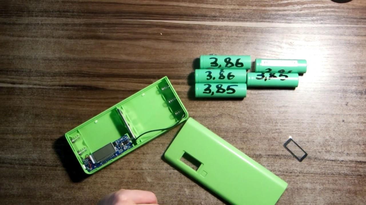 Как сделать повер банк своими руками из батареек 967