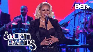 Faith Evans Remains Humble and Thankful As She Accepts the Lady of Soul Award